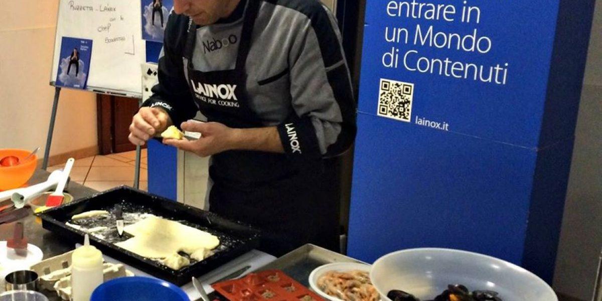 Dimostrazioni di cucina con lo chef Gianluca Scolastra